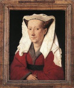 Jan Van Eyck - Portrait of Margareta van Eyck
