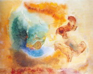 Odilon Redon - The Fall of Phaeton