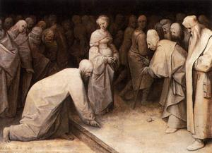Pieter Bruegel The Elder - Christ and the Woman taken in Adultery