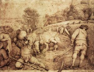 Pieter Bruegel The Elder - Summer