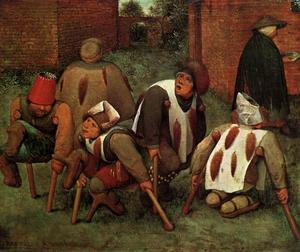 Pieter Bruegel The Elder - The Cripples