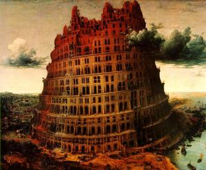Pieter Bruegel The Elder - The \Little\-- Tower of Babel--