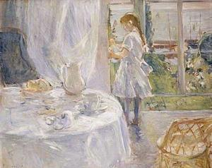 Berthe Morisot - Interior of a Cottage