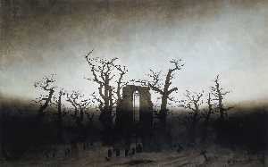 Caspar David Friedrich - The Abbey in the Oakwood