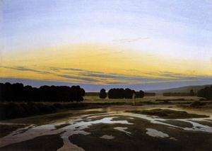 Caspar David Friedrich - The Grosse Gehege near Dresden