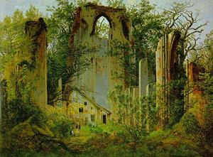 Caspar David Friedrich - The Ruins of Eldena Abbey1