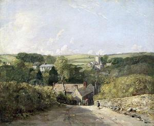 John Constable - A View of Osmington Village with the Church and Vicarage
