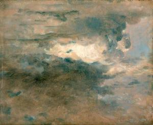 John Constable - Clouds Study - Evening
