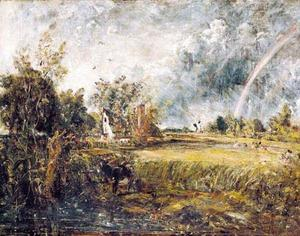 John Constable - Cottage at East Bergholt