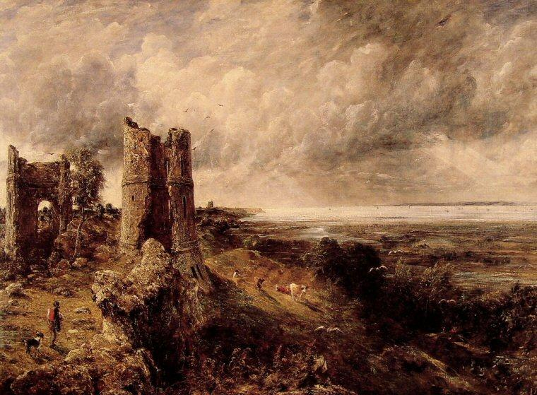 Hadleigh Castle, Oil On Canvas by John Constable (1776-1837, United Kingdom)