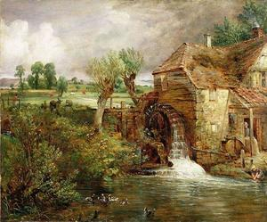 John Constable - Mill at Gillingham, Dorset