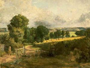 John Constable - The Entrance to Fen Lane