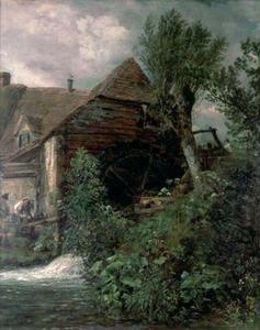John Constable - Watermill at Gillingham, Dorset