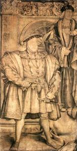 Hans Holbein The Younger - Henry VIII and Henry VII
