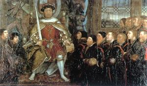 Hans Holbein The Younger - Henry VIII and the Barber Surgeons1