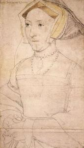 Hans Holbein The Younger - Jane Seymour