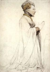 Hans Holbein The Younger - Jeanne de Boulogne, Duchess of Berry