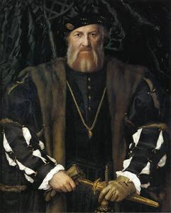Hans Holbein The Younger - Portrait of Charles de Solier, Lord of Morette