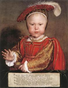 Hans Holbein The Younger - Portrait of Edward, Prince of Wales