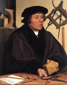 Hans Holbein The Younger - Portrait of Nikolaus Kratzer