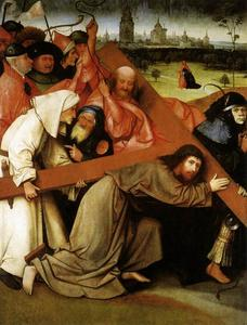 Hieronymus Bosch - Christ Carrying the Cross1