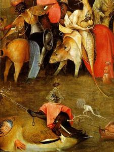 Hieronymus Bosch - The temptation of St. Anthony