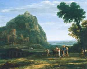 Claude Lorrain (Claude Gellée) - View of Delphi