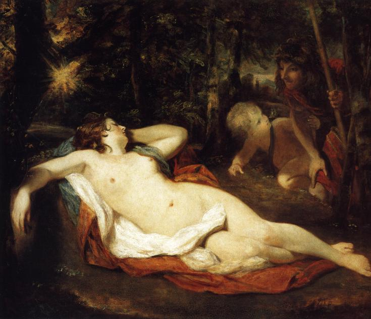 Cimon and Iphigenia, 1780 by Joshua Reynolds (1723-1792, United Kingdom) | Museum Art Reproductions Joshua Reynolds | WahooArt.com