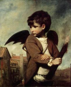 Joshua Reynolds - Cupid as a Link Boy