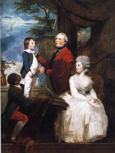 Joshua Reynolds - George Grenville, Earl Temple, Mary, Countess Temple, and Their Son Richard