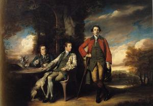 Joshua Reynolds - Henri Fane with His Guardians