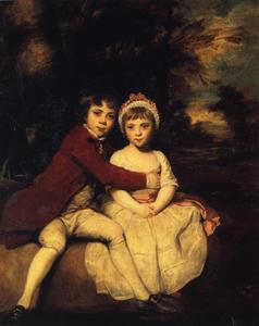 Joshua Reynolds - John Parker and his Sister Theresa