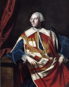 Order Reproductions | John Russel, 4th Duke of Bedford, 1762 by Joshua Reynolds (1723-1792, United Kingdom) | WahooArt.com