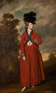 Joshua Reynolds - Lady Worsley