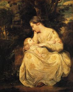 Joshua Reynolds - Mrs Richard Hoare and Child