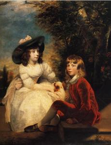 Joshua Reynolds - The Angerstein Children