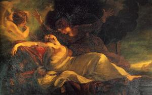 Joshua Reynolds - The Death of Dido