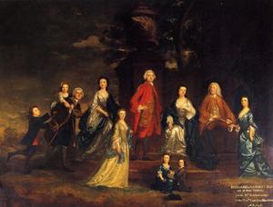 Joshua Reynolds - The Eliot Family
