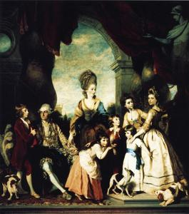 Joshua Reynolds - The Marlborough Family