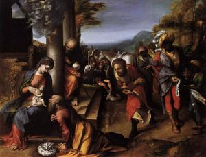 Antonio Allegri Da Correggio - The Adoration of the Magi