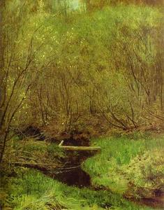 Isaak Ilyich Levitan - Spring in the Forest
