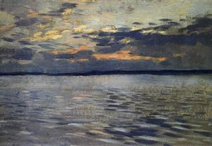 Isaak Ilyich Levitan - The Lake. Eventide.