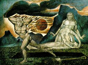 Order Art Reproductions | The Body of Abel Found by Adam and Eve by William Blake (1757-1827, United Kingdom) | WahooArt.com