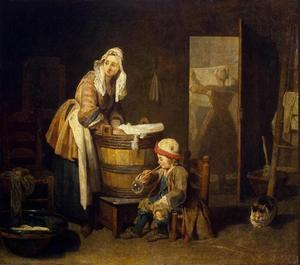 Jean-Baptiste Simeon Chardin - The Laundress