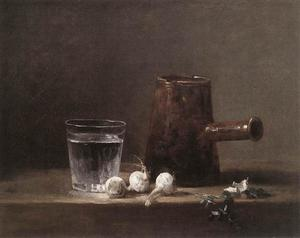 Jean-Baptiste Simeon Chardin - Water Glass and Jug