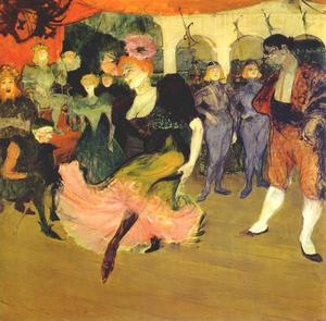 Henri De Toulouse Lautrec - Marcelle Lender Dancing the Bolero in Chilperic