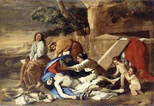 Nicolas Poussin - Lamentation over the Body of Christ