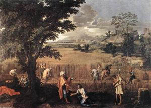 Nicolas Poussin - Summer (Ruth and Boaz)