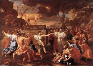 Nicolas Poussin - The Adoration of the Golden Calf