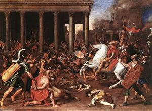 Nicolas Poussin - The Destruction of the Temple at Jerusalem